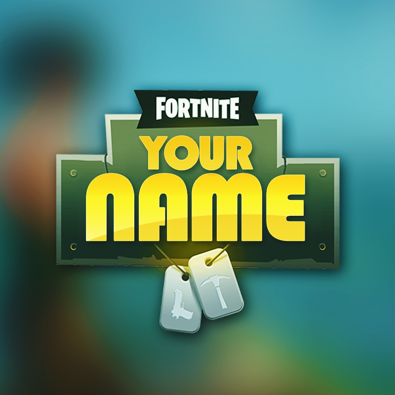 brand yourself with fortnite - fortnite twitter logo