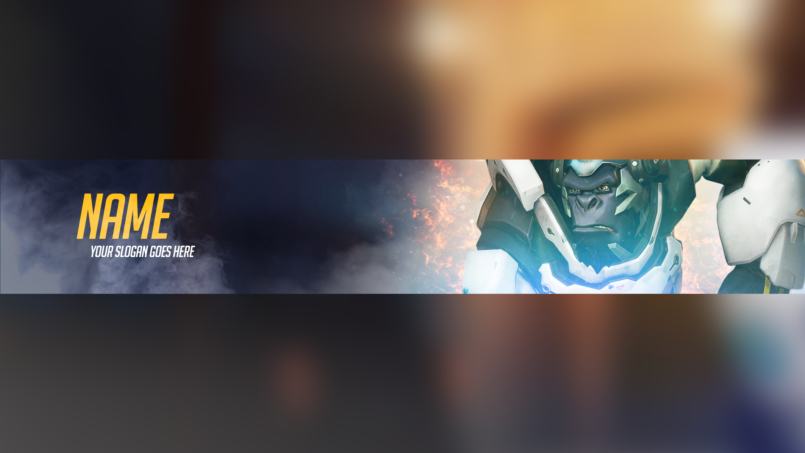 Free Satisfactory YouTube Banner Pack